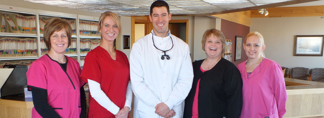 The friendly staff at Tainter Street Dental is ready to bring healthy smiles to you and your family!